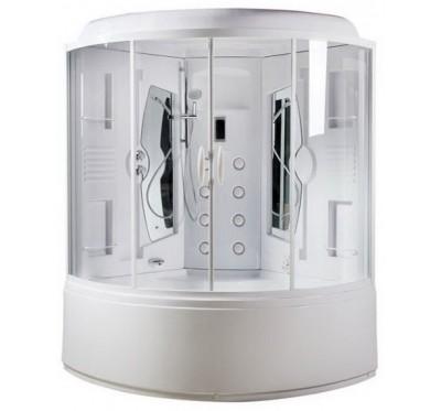 Гидромассажный бокс Am Pm Bourgeois 150х150 см. W65B-150A150WTB