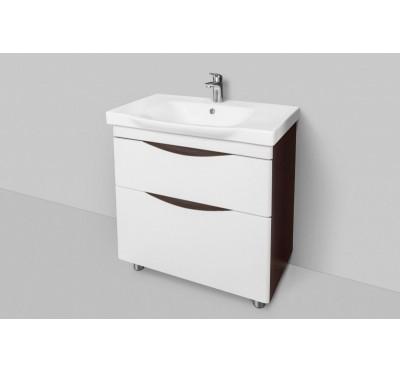 Тумба для ванной комнаты Am Pm Like M80-FSX0802V-WC0802-38 80 см. напольная