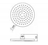 Am Pm F0500400 верхний душ