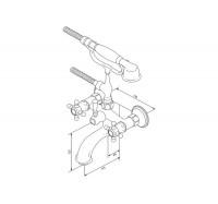 Am Pm 5 O'Clock F2510077 смеситель для ванны