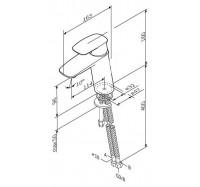 Am Pm Spirit V2.1 F71A02100 смеситель для умывальника