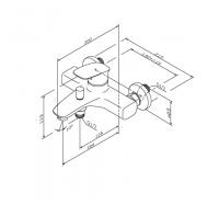 Am Pm Spirit V2.1 F71A10000 смеситель для умывальника