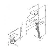 Am Pm Spirit V2.1 F71A82100 смеситель для умывальника