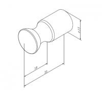 Am Pm Sensation A3035500 крючок для полотенец