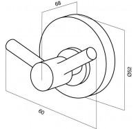 Am Pm Bliss A5535664 крючок для полотенец