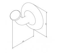 AmPm Like A8035500 крючок для полотенец